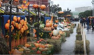 """Moskva: Lễ hội ẩm thực """"Mùa thu vàng"""""""