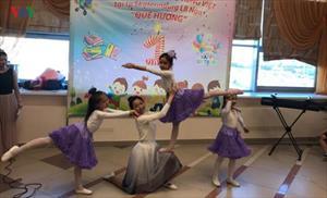 """Lớp học Tiếng Việt """"Quê hương"""" tại Ekaterinburg (Nga)"""