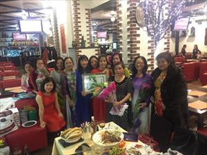 Chi hội PN TTTM Mátxcơva: Kỷ niệm 86 ngày thành lập Hội liên hiệp phụ nữ Việt Nam