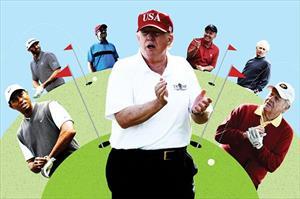 Cuộc sống chưa được biết đến của Tổng thống Trump trên sân golf