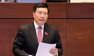 Phó Thủ tướng Phạm Bình Minh nói về vụ 39 người chết trong xe container ở Anh