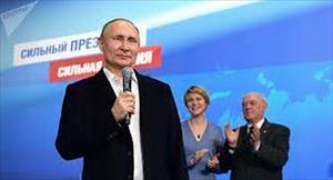 Video: Tổng thống Putin lần đầu phát biểu sau chiến thắng áp đảo