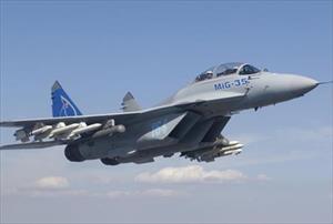 Tiêm kích MiG-35 lần đầu xuất hiện tại Triển lãm MAKS-2017