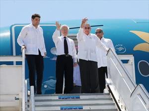 Chủ tịch Cuba và Tổng Bí thư Nguyễn Phú Trọng thăm Santiago De Cuba