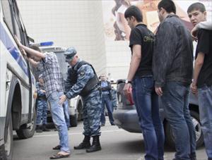 Moskva: Bắt giữ 400 người nhập cư trong chiến dịch kiểm tra