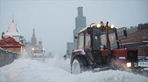 Moskva: Bão tuyết, sân bay hủy chuyến, thời tiết đang tiếp tục xấu đi
