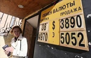 """Quan chức Nga: """"Người dân không nên hoảng sợ vì đôla tăng giá"""""""