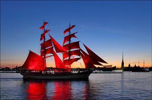 Đêm trắng và cánh buồm đỏ thắm: Huyền thoại mùa hè ở St Peterburg