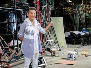 Cận cảnh sân khấu Bolero 3 tỷ đồng của Mr. Đàm