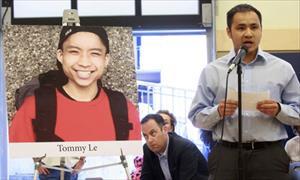 Người Việt ở Mỹ đòi công lý cho nam sinh bị cảnh sát bắn chết