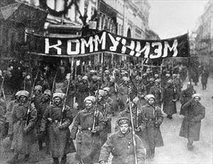 Ảnh hiếm về cuộc Cách mạng Tháng Mười Nga 100 năm trước