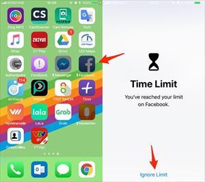 Cách giới hạn thời gian sử dụng iPhone cho trẻ em