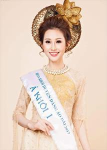 Điều ít biết về người đẹp Việt đăng quang Hoa hậu châu Á Thế giới