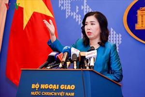Việt Nam lên tiếng về việc 5 nước tập trận bắn đạn thật ở Biển Đông
