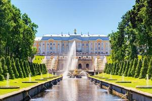 8 cung điện tuyệt đẹp ở St. Petersburg, Nga