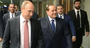 Tổng thống Nga Putin đi nghỉ cuối tuần ở Altai với ông Berlusconi