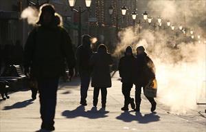 Moskva chờ đón những đêm cuối thu lạnh nhất