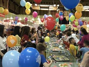 Ngày Quốc tế thiếu nhi 1.6 cộng của đồng người Việt tại TTTM Mátxcơva