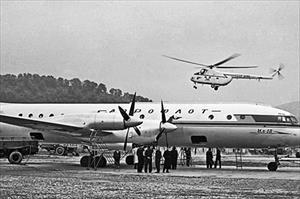 Loạt ảnh các máy bay chở khách huyền thoại một thời của Liên Xô