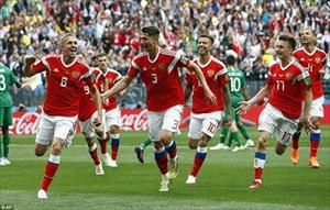 """Toàn cảnh màn """"hủy diệt"""" Saudi Arabia của ĐT Nga ở khai màn World Cup"""