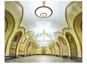 Ga tàu điện ngầm Moskva đẹp tuyệt vời qua ống kính của nhiếp ảnh gia Canada