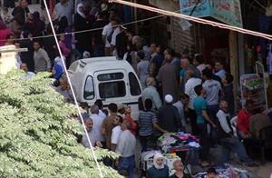 Hình ảnh đời thường ở thị trấn Syria mới giải phóng
