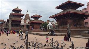 Những di tích bị động đất tàn phá ở Nepal
