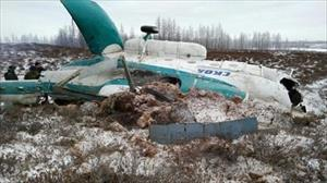Nga: 19 người thiệt mạng trong vụ rơi máy bay Mi-8