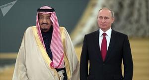 Tổng thống Putin tới Arab Saudi bàn về cuộc khủng hoảng dầu mỏ và Iran