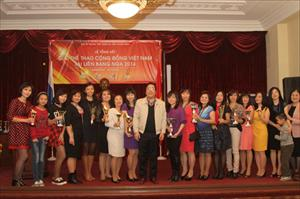 Bế mạc Giải thể thao cộng đồng Việt Nam tại Nga năm 2014