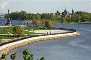 Mê mẩn du lịch trên sông Volga qua ảnh