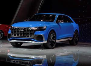 Ngắm trước Audi Q8 sẽ ra mắt vào tháng 6/2018