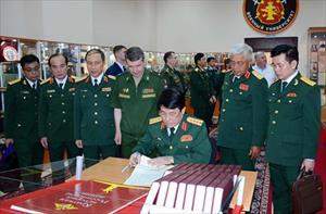 Một số hình ảnh hoạt động của Đại tướng Lương Cường tại LB Nga