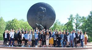 Sinh viên RUDN tổ chức hoạt động Kỷ niệm 129 năm sinh nhật Bác
