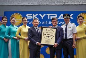 Vietnam Airlines chính thức nhận chứng chỉ 4 sao năm thứ tư liên tiếp của Skytrax