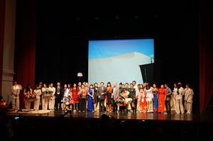 Nhà hát kịch QĐND Việt Nam biểu diễn tại LB Nga