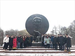 Sinh viên Việt Nam tại Rudn kỷ niệm 89 năm thành lập Đảng (3/2/1930 - 3/2/2019)
