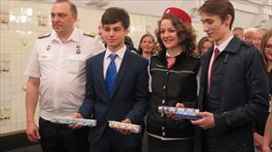 Hệ thống tàu điện ngầm Moskva tròn 80 năm hoạt động niềm tự hào của người dân Nga