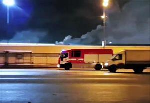 Moskva: Vụ cháy ở chợ Sadovod