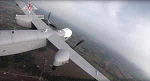 """Bộ Quốc phòng công bố video chuyến bay đầu tiên của máy bay không người lái """"Altius-U"""""""