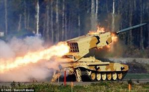 """Hé lộ vũ khí nhiệt áp đáng sợ hơn cả """"hỏa thần"""" TOS-1A của Nga"""