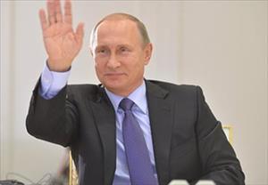 Tổng thống Putin chúc mừng Chủ tịch Trương Tấn Sang nhân dịp Tết