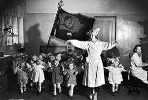 Hình ảnh về những trường mầm non ở Liên Xô