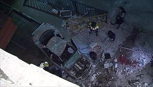 Moskva: Xe rơi từ tầng cao, 4 thanh niên thiệt mạng