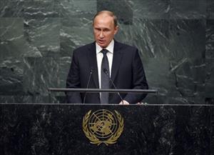 Putin sẽ không tham gia họp Đại Hội đồng Liên Hợp Quốc