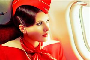 Vẻ đẹp ngọt ngào của các nữ tiếp viên hàng không Aeroflot (Nga)