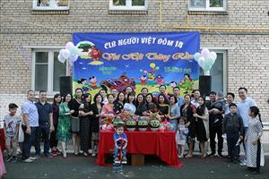Tin ảnh: CLB người Việt tại Đôm 14 tổ chức Hội Trăng Rằm