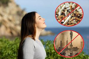 Ăn gì để bảo vệ phổi trong môi trường ô nhiễm