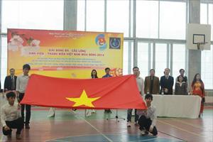 Tổng kết giải bóng đá cầu lông sinh viên Việt Nam tại Matxcơva - Mùa đông năm 2014