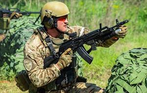 Chùm ảnh về những khóa đào tạo quy củ của trường đại học đặc nhiệm Nga